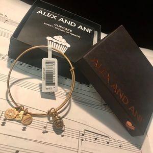 Alex and Ani Cupcake bangle bracelet